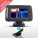 Sonda GPS Plotter Lowrance Elite-5 Ti Low/High/DownScan 600w