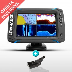 Sonda GPS Plotter Lowrance Elite-7 Ti Mid/High/DownScan