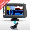 Sonda GPS Plotter Lowrance Elite-7 Ti Low/High/DownScan 600w