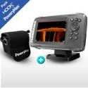 Sonda GPS Plotter Lowrance HOOK2-5 TripleShot + Batería PoweryMax PX5