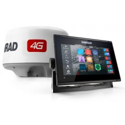 PACK RADAR Sonda GPS Plotter Simrad GO9 XSE + 4G