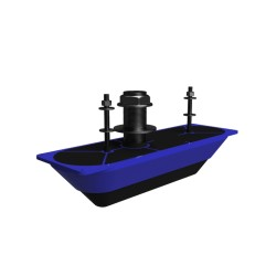 Transductor pasacascos structurescan 3d inox lowrance/simrad