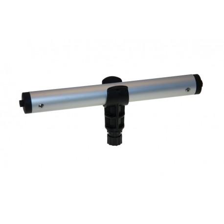 Abrazadera negra OH032B BORIKA para tubo 32mm
