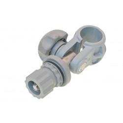 Abazadera articulada gris TC022G BORIKA tubo 22mm