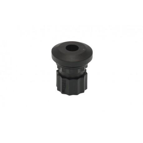 Adaptador universal negro BORIKA agujero 8mm