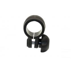 Abazadera negra CN032B BORIKA tubo 32mm