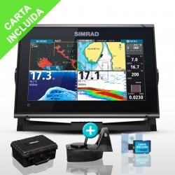 Pack Sonda GPS Plotter Simrad GO9 XSR AIRMAR TM150M