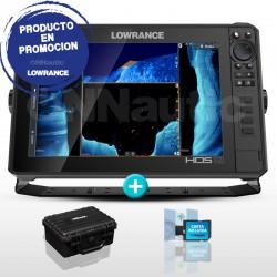 Sonda GPS Plotter Lowrance HDS-12 Live + carta CMAP MAX-N+ WIDE