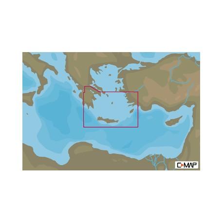 Cartografía C-MAP MAX-N+ EM-Y130 SOUTH AEGEAN SEA