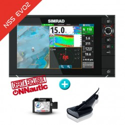 Sonda GPS Plotter Simrad NSS9 EVO2 + HDI Low/High/DownScan 50/200 600w
