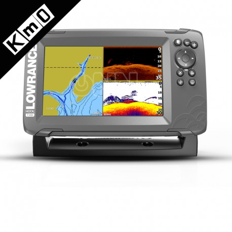 Sonda GPS Plotter Lowrance HOOK2-7 SplitShot KM0