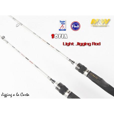 Caña M&W Sofia Light Jigging Gama Baitcasting