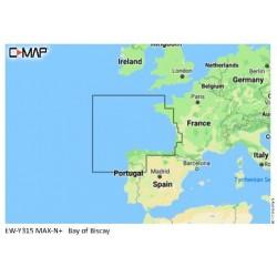 Cartografía C-MAP MAX-N+ Local EW-Y315 Bay of Biscay