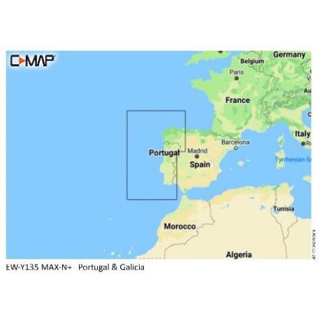 Cartografia C-MAP MAX-N+ LOCAL Portugal Coasts