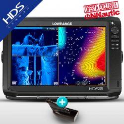 Sonda GPS Plotter LOWRANCE HDS-12 Carbon HDI 83/200 CHIRP/DownScan