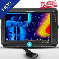 Lowrance HDS 12 Carbon con Transductor HDI 50/200 600w CHIRP/DownScan