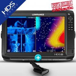 Sonda GPS Plotter LOWRANCE HDS-12 Carbon Low/High CHIRP + DownScan