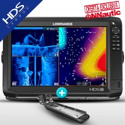 Lowrance HDS 12 Carbon con Transductor Active Imaging 3en1