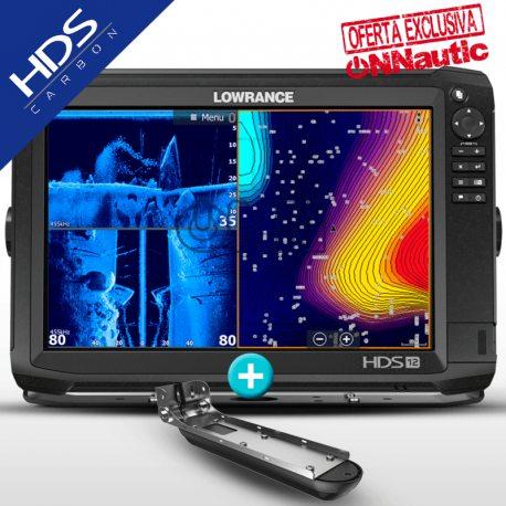 Lowrance HDS 12 Carbon con Transductor Active Imaging 3en1