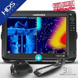 Sonda GPS Plotter LOWRANCE HDS-12 Carbon + StructureScan 3D