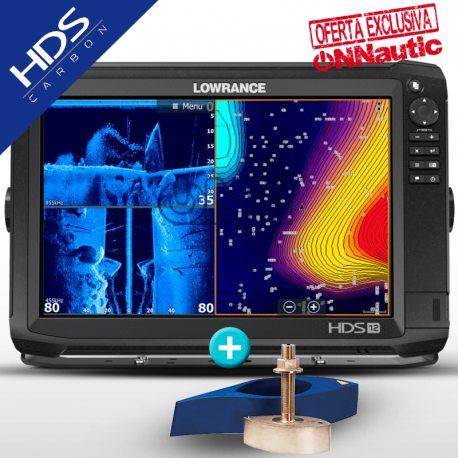 Sonda GPS Plotter LOWRANCE HDS-12 Carbon + Airmar B275LH-W