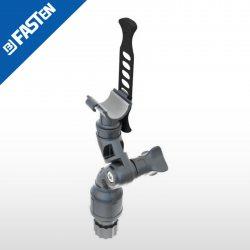Soporte borika fasten articulado lh130 negro max diametro 30mm