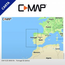 Cartografia C-MAP MAX-N+ LOCAL Portugal Coasts