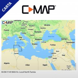 Cartografia C-Map max-n+ local North Tunisia