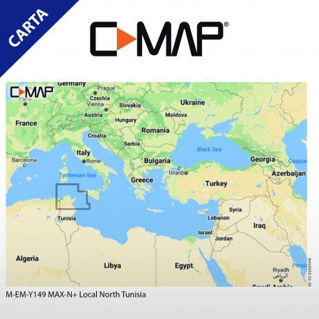 Cartografia C-Map max-n+ local North Tunisia
