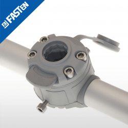 Base BORIKA Fasten FMR132G GRIS para tubo 30-32mm