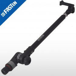 Soporte BORIKA Fasten NG1100B NEGRO cámara extensible 1100mm