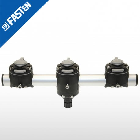 Rail Borika Fasten GM350-3B NEGRO 350mm