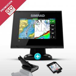 Sonda GPS Plotter Simrad GO5 XSE Low/High CHIRP + DownScan 600w