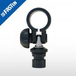 Abazadera articulada negra RL032B BORIKA tubo 32mm