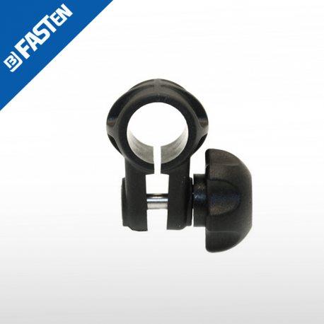 Abrazadera negra CN022B BORIKA tubo 22mm