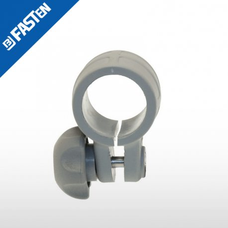 Abazadera gris CN032G BORIKA tubo 32mm