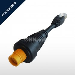 Adaptador Simrad RJ45M / 5PinF Ethernet.