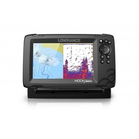 Sonda GPS Plotter Lowrance HOOK Reveal 7 HDI 83/200/Downscan