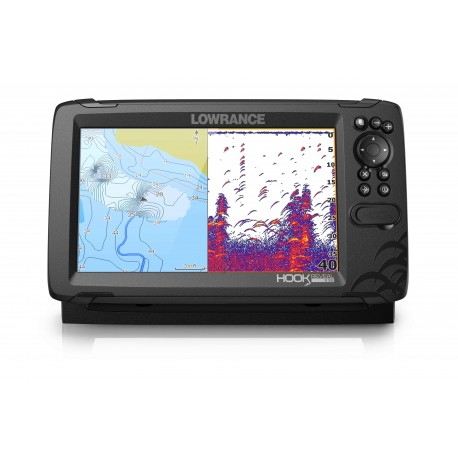 Sonda GPS Plotter Lowrance HOOK Reveal 9 HDI 83/200/Downscan