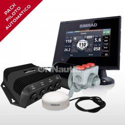 Pack Piloto Automático Hidráulico + Simrad GO5 XSE