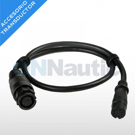 Adaptador transductor conector azul 7 pines a Hook2