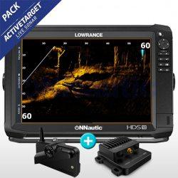 Lowrance HDS 12 Carbon con Active Target™. Sonda en Tiempo Real