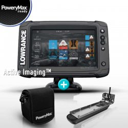 Sonda GPS Plotter Lowrance Elite 7 Ti2 PoweryMax Ready con Transductor Active Imaging 3 in 1