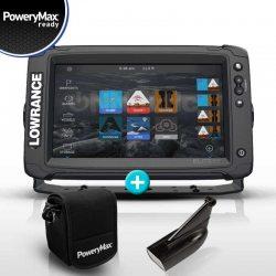 Sonda GPS Plotter Lowrance Elite 9 Ti2 PoweryMax Ready con Transductor HDI 83/200 DownScan