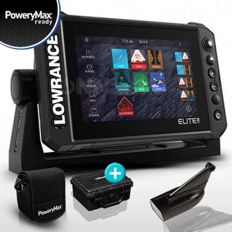 Lowrance Elite FS 7 PoweryMax Ready con Transductor HDI 83/200 DownScan