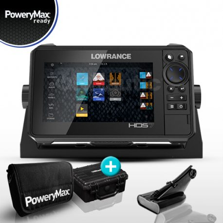 Lowrance HDS 7 Live PoweryMax Ready con Transductor HDI 50/200 600W DownScan