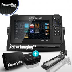 Lowrance HDS 7 Live PoweryMax Ready con Transductor Active Imaging 3 en 1