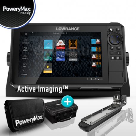 Lowrance HDS 9 Live PoweryMax Ready con Transductor Active Imaging 3 en 1