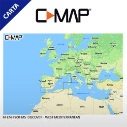 C-MAP DISCOVER M-EM-Y200-MS West Mediterranean