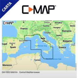 C-MAP DISCOVER M-EM-Y201-MS Central Mediterranean